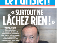 Gattaz à Macron : surtout ne lachez-rien!