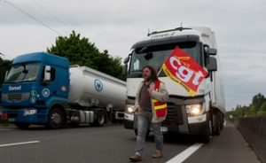 manif routiers