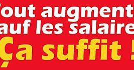 Halte à la punition salariale!