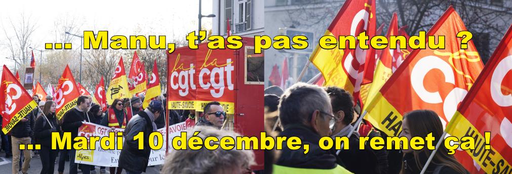 Manifestons le 10 décembre