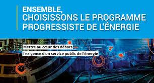 LE PROGRAMME PROGRESSISTE DE L'ÉNERGIE FNME CGT