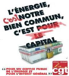 POUR un service Public de l'énergie: Grève le 3 Novembre