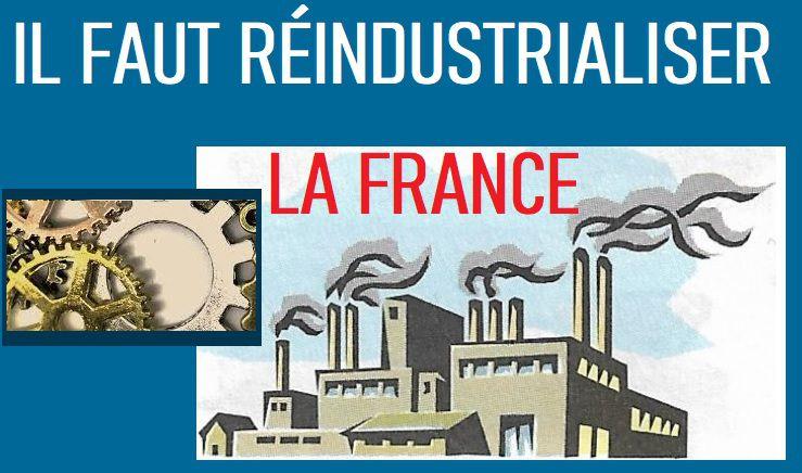 L'industrie pour redresser le pays