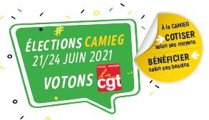 Élections Camieg du 21 au 24 juin