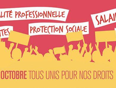 Le 5 octobre, mobilisation générale !